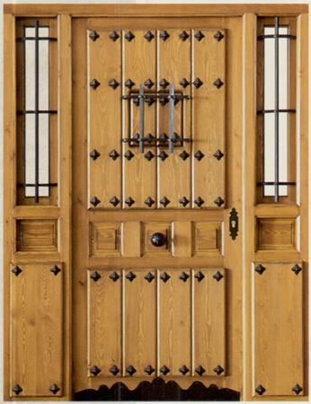 Puertas minimalistas para exterior car interior design - Puertas de calle ...