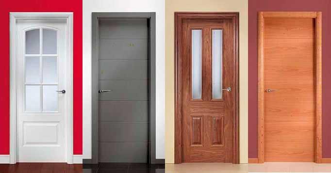 Puertas de madera para interiores y exterior - Colores para puertas de madera interiores ...